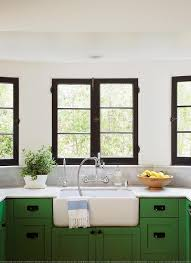 Kitchen Cabinets Green Kelly Green Kitchen Island Design Ideas