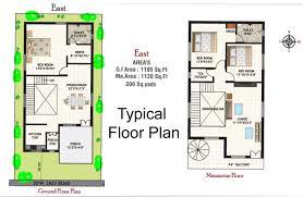 Duplex Design Plans by Homey Design 11 Duplex House Plans As Per Vastu 20x30 East Facing
