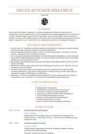 French Resume Examples by Commercial Director Resume Samples Visualcv Resume Samples Database