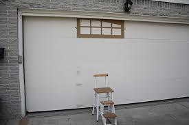 Insulating Garage Door Diy by Fake Garage Door Windows In Perfect Home Decorating Ideas P64 With