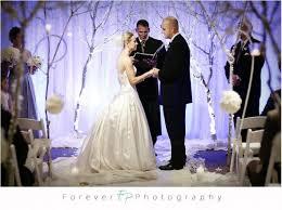 winter wonderland ceremony u2013 what kind of tree to buy weddingbee