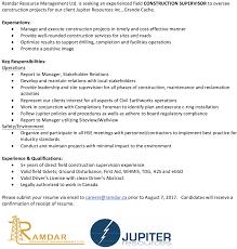 How To Send Resume Via Email Ramdar Resource Management Ltd Linkedin