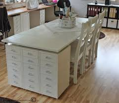 Corner Sewing Table by 84 Best Ultimate Craft Room Images On Pinterest Craft Space