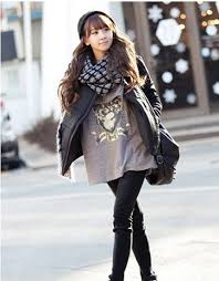 how to dress up winter cotton padded jacket faux fur coat