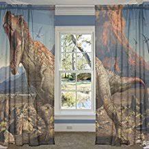 chambre dinosaure amazon fr rideau dinosaure