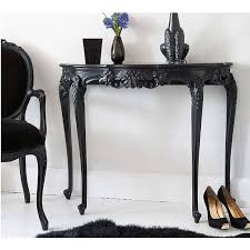 Black Console Table Best 25 French Console Table Ideas On Pinterest Black Gold