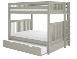 Camaflexi Full Over Full Bunk Bed With Trundle  Reviews Wayfair - Full over full bunk bed with trundle