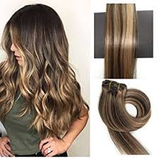 real hair extensions clip in thefashionway human hair extensions clip in