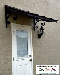 Metal Awnings For Front Doors The Concave Gallery Metal Awnings Projects Gallery Of Awnings