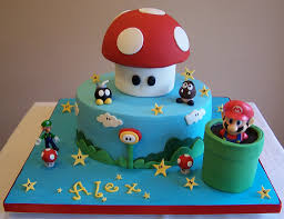 super mario cake i made this cake for my son u0027s birthday ba u2026 flickr