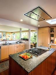 kitchen island ventilation kitchen island ventilation flush ceiling mount range