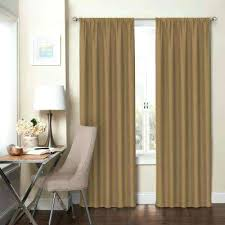 Gold Striped Curtains Brown And Gold Curtains Blackout Rod Pocket Curtain Brown And Gold