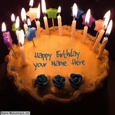 happy birthday cake with name birthday wishes