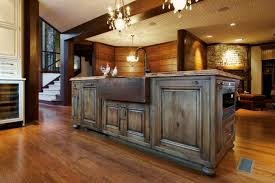 Small Kitchen Island With Sink by Kitchen Design 20 Photos Gallery Best Small Rustic Wooden