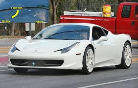 Ferrari 458 Italia Spider - justin bieber u0026 his ferrari 458 italia spider bring the links