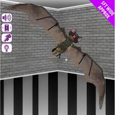 shop now for halloween bat decoration at www tjhughes co uk click