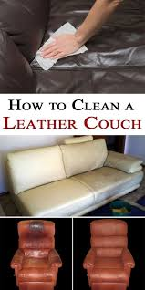 Sofa Leather Cleaner And Conditioner How To Clean A Leather Couch Leather Life Hacks And Clean