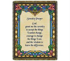 serenity prayer gifts throw serenity prayer stained glass in bellville oh