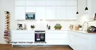 castorama faience cuisine carrelage metro castorama carrelage metro blanc brico depot