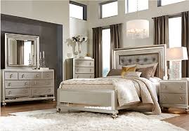 Curio Cabinets At Rooms To Go Shop For A Sofia Vergara Paris 5 Pc Queen Bedroom At Rooms To Go