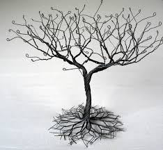 black large earring tree stand wire tree myshoplah