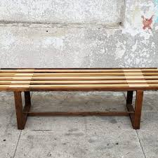 Solid Wood Benches Sunbeam Vintage Benches Ottomans Foot Stools