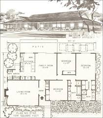 1950s ranch house plans mid century modern house plans ipbworks com