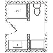 5x7 Bathroom Plans Best 25 5x7 Bathroom Layout Ideas On Pinterest Small Bathroom
