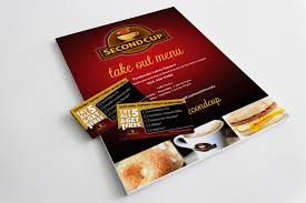 second cup take out menu and punch cards adservices inc