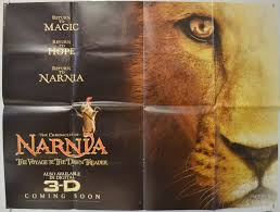 narnia film poster the chronicles of narnia the voyage of the dawn treader original