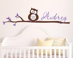 Nursery Owl Wall Decals Owl Wall Decals