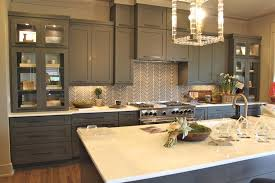 pictures of kitchens with gray cabinets white and gray kitchen backsplash design ideas