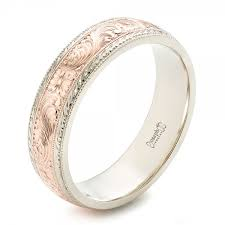 wedding band engravings custom men s engraved wedding band josephjewelry gold