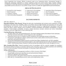 Sample Of Sales Associate Resume Luxury Department Store Sales Associate Resume Free Sample Retail