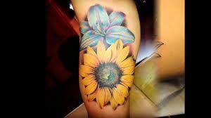 40 lovely sunflower tattoos