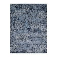 Viera Area Rug Shop Loloi Viera Light Blue Indoor Distressed Area Rug Common 8