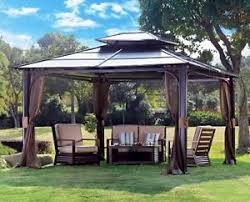 Gazebo With Awning Tub Canopy Gazebo Garden Gazebo Patio Awning Permanent