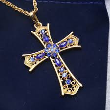 crucifix jewelry aliexpress buy golden crucifix jewelry 2017 fashion
