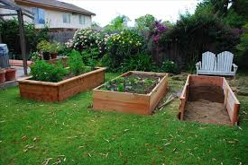 Box Gardening Ideas House Design With Diy Wood Raised Bed Box Vegetable Gardening
