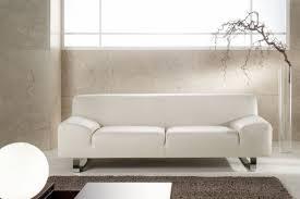canapé m canapé design minimaliste en cuir 3 places m madonna