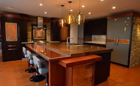 trend art glass in kitchens save room for design ge monogram ref with glass doors