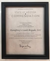 humphrey u0027s receives letter of commendation from arizona governor