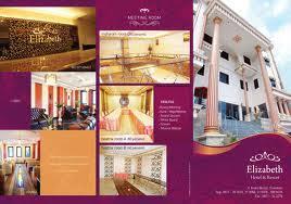 contoh desain brosur hotel desain brosur advertisingpromotion