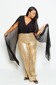 jumpsuit for plus size plus size sheer and sparkling sequin cape sleeve jumpsuit