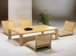 Japanese Style Dining Room Floor Dining Table Prince Furniture