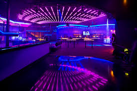 strips of led lights this colourful nightclub uses led light strips to create an