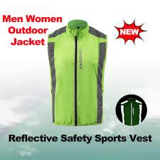 mens fluorescent cycling jacket aliexpress com buy unisex reflective cycling vest windproof