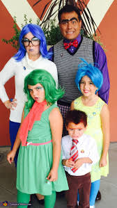 inside out costumes inside out family costume ideas