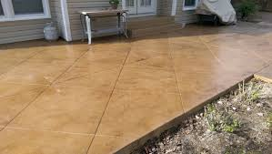 Stain Existing Concrete Patio by Dyes Stains U0026 Stamped Decorative Concrete Inc