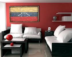 handmade distressed wooden venezuela flag vintage distressed
